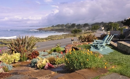 groupon daily deal - 1-, 2-, or 4-Night Stay at Cambria Shores Inn in Cambria, CA. Combine Up to 20 Nights.