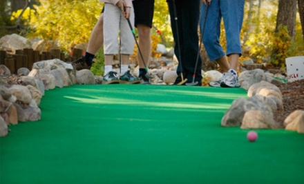 Four or Eight Rounds of 18-Hole Mini Golf at The Sports Arena (Up to 54% Off)