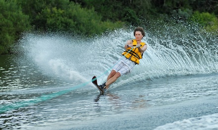 Water Skiing, Wakeboarding, and Water Sports for Two or Four at Safe Haven Adventure Sports (Up to 52% Off)