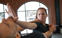 10 Krav Maga Classes or One Month of Unlimited Krav Maga Classes at Elite Training Center (Up to 84% Off)
