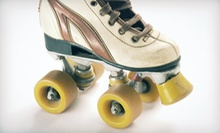 Roller Skating with Skate Rentals and Large Drinks for Two or Four People at Forum Roller World (Up to 57% Off)
