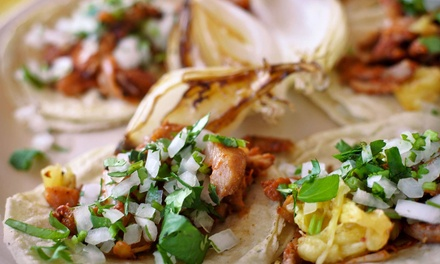 Mexican Cuisine for Dine-In or Carryout at What A Taco (50% Off)