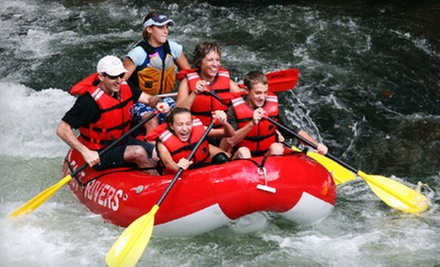 $10 for a Self-Guided Trip in a Self-Bailing Inflatable Raft from Adventurous Fast Rivers Rafting ($19 Value)