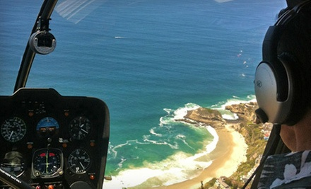 Helicopter Tour of Orange County, Newport Beach, or Laguna Beach for Two from OC Helicopters (53% Off)