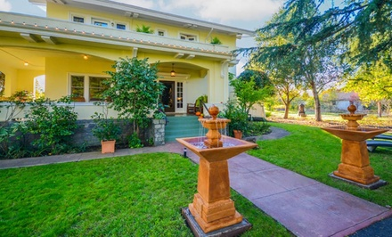 groupon daily deal - Gift a 1-Night Stay for Two at Casa Bella Inn in Sonoma Valley, CA. Combine Up to 2 Nights.