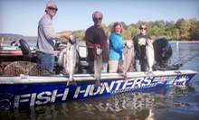 All-Day Fishing Trip with Bait and Equipment Rental for One or Two from Fish Hunters Guide Service (Half Off)