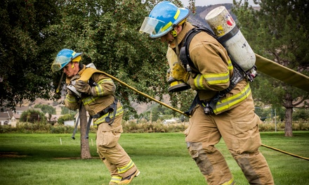 $40 for One Entry in the Torched Firefighter Obstacle Race on Saturday, April 18 ($75 Value)