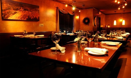 $29 for a Prix-Fixe Meal for Two at Bistro on Main ($50 Value)