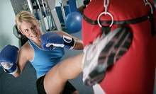 10 or 20 KickFit Boxing Classes at Black Belt Institute (Up to 68% Off)
