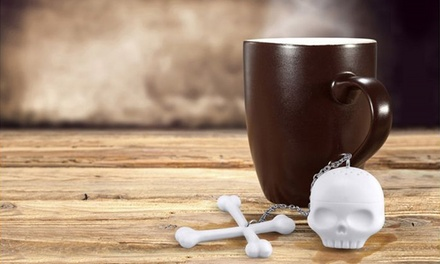 2-, 4-, or 6-Pack of Skull and Crossbones Tea Infusers from $11.99 to $19.99