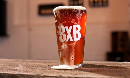 $19.99 for a Craft Beer Tasting Package for Two at The Bronx Brewery ($38 Value)