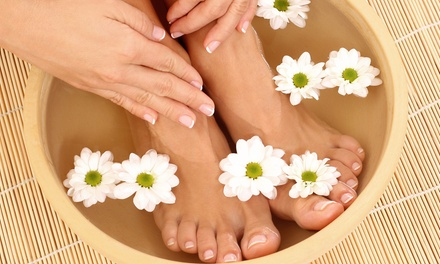 $20 for The Dutchess Mani-Pedi at Christie Pea Nail Spa & Beautique ($40 Value)