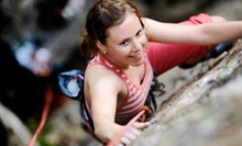 All-Day Rock-Climbing Packages for Two or Four at Climb Upstate (Up to 55% Off)