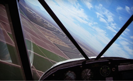 One-Hour Introductory Flight Lesson or Scenic Flight Tour for Two or Three at Classic Air Aviation (Up to 72% Off)