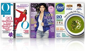 $10 For Two One-year Magazine Subscriptions (up To $30 Value). 21 Titles Available.