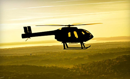 New York City Helicopter Tour for Two or Piloting Experience for One from Wings Air Helicopters (Up to 48% Off)