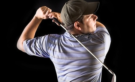 One, Two, or Three Two-Hour Sessions in a Golf Simulator at Golf USA (Up to 54% Off)