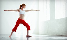 One, Two, or Three Months of Unlimited Yoga Classes at Yogini's (Up to 87% Off)
