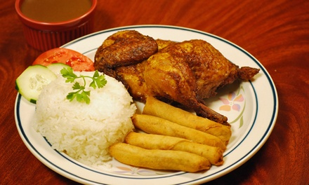Filipino-Style Meal for Two or Four at Savory Fried Chicken (Up to 47% Off)