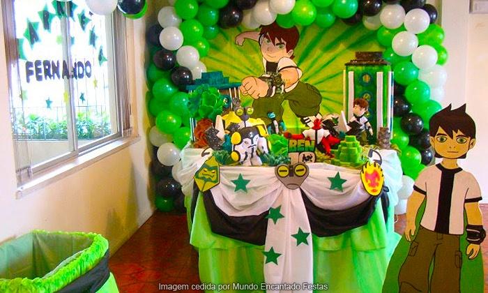 Mundo Encantado Festas - Porto Alegre: Mundo Encantado Festas: decoração e mesa de doces (opção de hot dog, pipoca, brinquedos e monitor), a partir de R$ 279