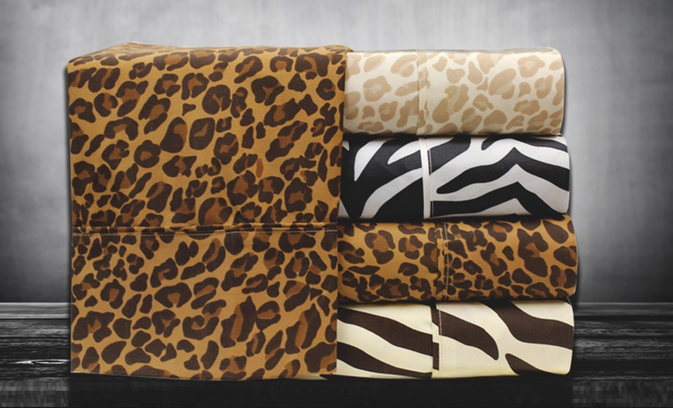 Hotel Collection Animal-Print Sheets Deal of the Day | Groupon