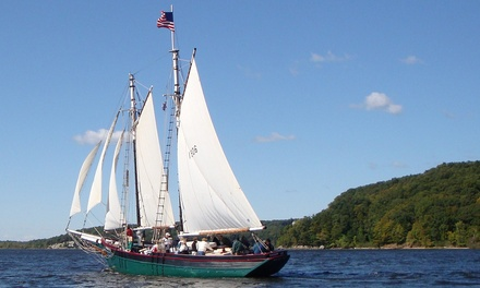 90-Minute Weekday or Thursday Evening Sunset Schooner Cruise from Connecticut River Museum (Up to 36% Off)