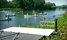 One or Two Half-Day Canoe or Kayak Rentals from Genesee Waterways Center (Up to 55% Off)