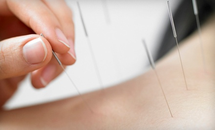 One, Two, or Four Acupuncture Treatments with an Initial Evaluation at One New Man Healing Center (Up to 82% Off)