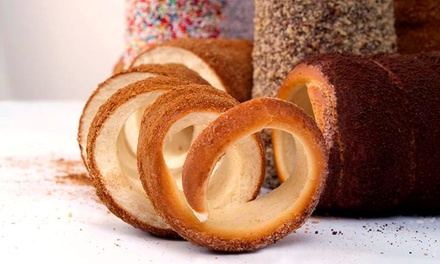 One or Three Groupons, Each Good for Sweet and Savory Chimney Cakes at Chimney Cake Café (47% Off)
