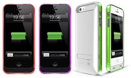 Maxicharger 2,400mAh Battery Case for iPhone 5/5s