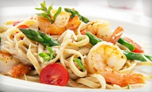 Half Off Italian Cuisine at Italian Cafe (Half Off). Two Options Available.