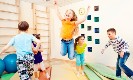One-Month After-School Program or At-Home Birthday Party from Funfit's Organically Grown Gym (Up to 59% Off)