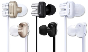 Earbuds with microphone 2 pack in ear - earbuds noise canceling with microphone