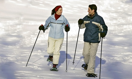 Half- or Full-Day Snowshoe and Fondue Trip from Apex Ex (Up to 84% Off)