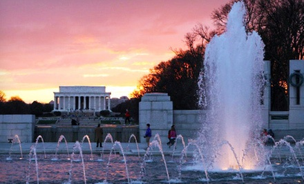 Four-Hour Guided City Van Tour for Two or Four from Washington, DC Legend Tours (Up to 61% Off)