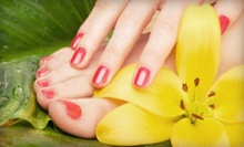 $35 for a Spa Mani-Pedi from Cathy Franco at Allure Salon Professionals ($90 Value)