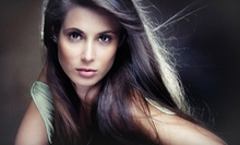 Haircut with a MoroccanOil Treatment or Haircut with Partial or Full Highlights at Salon Ciseaux (Up to 56% Off)