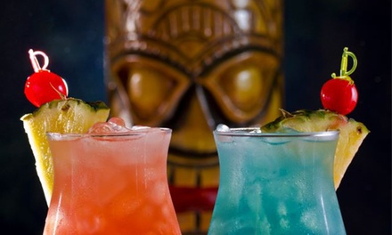 Hawaiian American Fusion Food and Craft Cocktails at Don The Beachcomber (Half Off). Two Options Available.