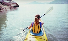 Two-Hour Single or Tandem Kayak Rental, or Three-Hour Introductory Kayaking Class from Creekside Kayaks (Up to 53% Off)