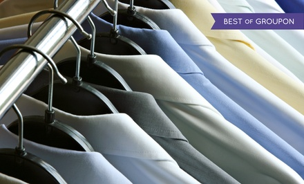 $49 for $100 Worth of Dry Cleaning and Laundering at McPherson Cleaners