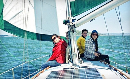 $199 for a 4-Hour Sailing Cruise with Refreshments for Six from Sailing Fearless in Sausalito ($400 Value)