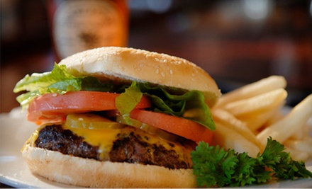 American Pub Food at The Whiskey Barrel (Up to 53% Off). Two Options Available.