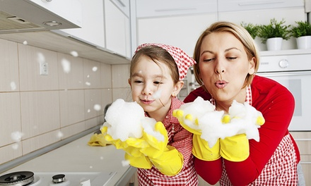 groupon daily deal - Housecleaning with One- or Three-Month Forever Clean Membership from Homejoy (Up to 66% Off)