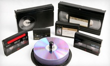$32 for Four Videotape-to-DVD Transfers at Moonlight Video Productions ($100 Value)