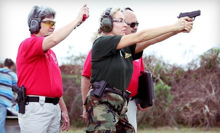 Tactical-Shooting Event and Scenario Training for One or Two with Field Pass, Gun Rental, and Ammunition