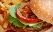 Burgers, Fries, and Drinks for Two or Four at 25 Burgers (Up to 52% Off)