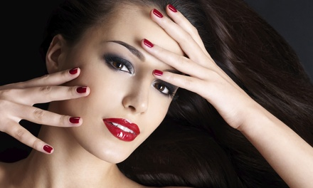 One or Three Shellac Manicures at My Angel Nails (Up to 53% Off)