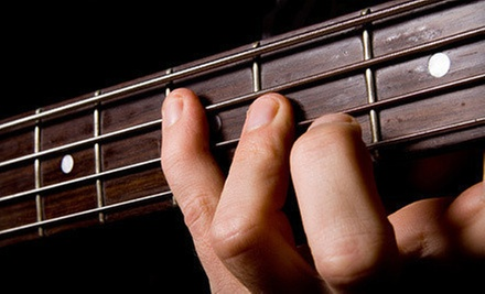 $49 for Five Private Guitar Lessons at One Stop Guitar ($125 Value)