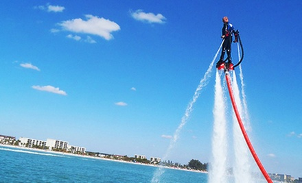 $110 for an Intro Lesson at Flyboarding Sarasota ($299 Value)