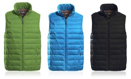 Hawke & Co Men's Packable Down Vest